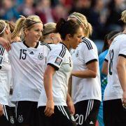 DFB-Frauen nach Sieg gegen Slowenien klar auf WM-Kurs (Foto)