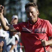 Augusta: Langer startet mit Par - Amerikaner Haas führt (Foto)