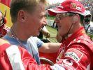 Auch Schumis Formel-1-Kollege Mika Häkkinen lag im Koma. (Foto)