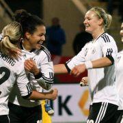 Langeweile: DFB-Frauen auf Weg zur WM nicht gefordert (Foto)