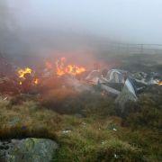 Insassen bis zur Unkenntlichkeit verbrannt (Foto)