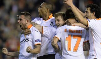Valencias «epische Aufholjagd» gegen Basel (Foto)