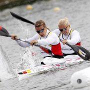 Kanu-Trio schafft Qualifikation für ersten Weltcup (Foto)