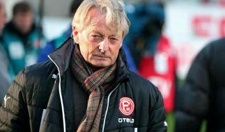 Düsseldorf-Coach Köstner ist eine weitere Woche krank (Foto)
