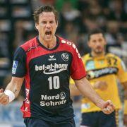 Flensburg zum vierten Mal in Serie im DHB-Pokal-Finale (Foto)