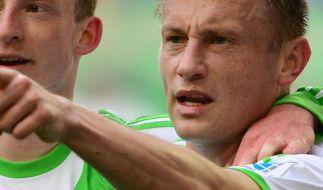 Wolfsburg nach 4:1 gegen Nürnberg auf CL-Kurs (Foto)