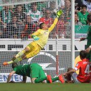 Mainz 05 hält Kurs Europa League - 3:0 gegen Bremen (Foto)