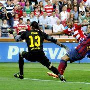 Real überholt Barcelona - Granada schockt Messi & Co. (Foto)