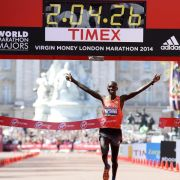 Marathon-Tag: Kipsang siegt in London, Hahner in Wien (Foto)