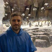 Die Pinguine im Hintergrund waren richtig witzig anzusehen.
