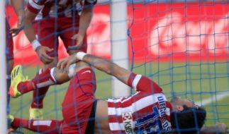 Entwarnung bei Atlético-Stürmer Diego Costa (Foto)