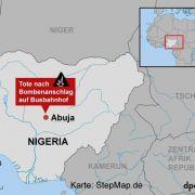 Bericht: Über 200 Tote bei Bombenanschlag in Nigeria (Foto)