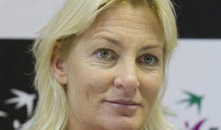 Deutsche Tennis-Damen trainieren in Brisbane (Foto)