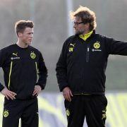 BVB-Coach Klopp hält Profi Durm für «bärenstark» (Foto)