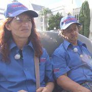 Andreas und seine Frau Manu heuern in L.A. bei einem Tourismusunternehmen an, doch haben schnell die Nase voll vom neuen Job.
