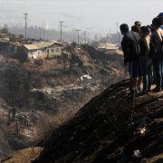 Helfer finden mehr Opfer der Feuerwalze von Valparaíso (Foto)