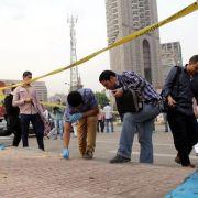 Verletzte bei Bombenexplosion in Kairo (Foto)