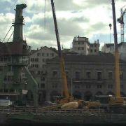 Zürich macht auf maritim: Sechseläuten mit Hafenkran (Foto)