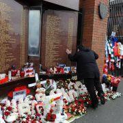 FIFA und UEFAgedenken der Hillsborough-Opfer (Foto)