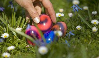 Das Wetter an Ostern verspricht sonnig und warm zu werden. (Foto)