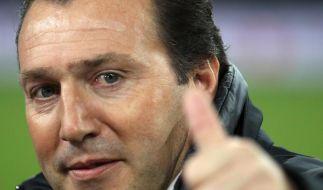Belgiens Nationaltrainer Wilmots verlängert (Foto)