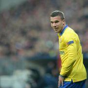 Zwei Podolski-Tore bei Arsenal-Sieg gegen West Ham (Foto)