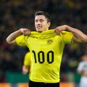 Lewandowski hatte Tor Nr. 100 «im Gefühl» (Foto)
