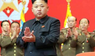 Ein Londoner Friseur sollte seine Werbeaktion mit der Frisur von Kim Jong Un bitter bereuen. (Foto)