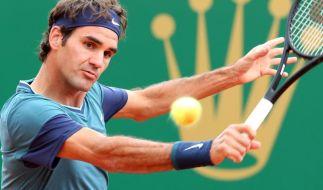 Nadal und Federer im Achtelfinale in Monte Carlo (Foto)
