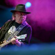 Crowdfundig: Millionen für Neil Youngs Musikplayer (Foto)
