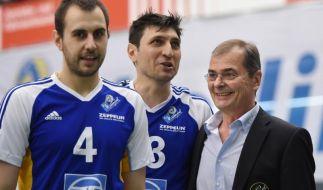Friedrichshafens Volleyballer im Finale (Foto)