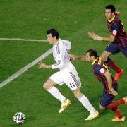Real gewinnt spanisches Pokalfinale gegen Barcelona (Foto)