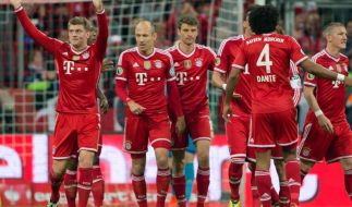 Bayern vor Borussia (Foto)