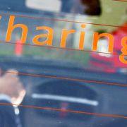 Zusatzversicherung bei privatem Carsharing wichtig (Foto)