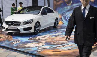 Mercedes beschleunigt in China (Foto)