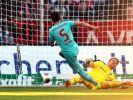 Düsseldorf schlägt Sandhausen deutlich - 3:0 für Fortuna (Foto)