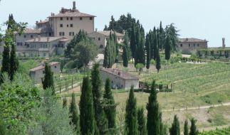 Die Landschaften des Chianti sind der Inbegriff der Toskana. (Foto)