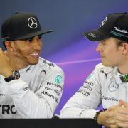Hamilton zu Duell im Team: «Alles ist cool» mit Nico (Foto)
