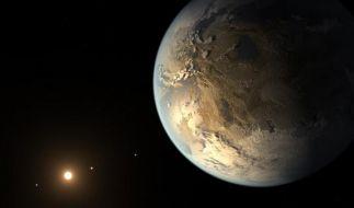Auf dem neu entdeckten Planeten könnte es der NASA zufolge sogar Wasser geben. (Foto)