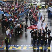 Anspannung vor dem Boston-Marathon (Foto)