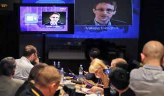 Snowden wehrt sich gegen Kritik an Frage in Putins TV-Sendung (Foto)