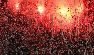 Chaos beim griechischen Pokal-Halbfinale (Foto)