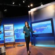 Neues Studio für die «Tagesschau» (Foto)