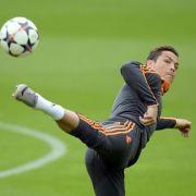 FünfTage vor Bayern-Spiel: Ronaldo wieder imTraining (Foto)