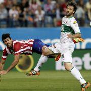 Rückschlag verhindert: Atletico schlägt FCElche 2:0 (Foto)