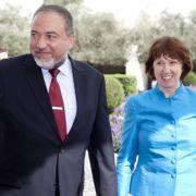 Israels Außenminister macht sich über Ashton lustig (Foto)