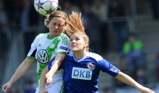 Champions League: Turbine gegen VfL-Frauen 0:0 (Foto)