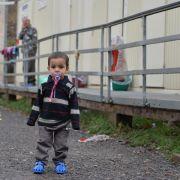 Starker Zustrom von Asylsuchenden hält an (Foto)