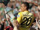 Werder feiert Elferheld Wolf und Rettung zu 98 Prozent (Foto)