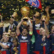 Cavani-Doppelpack: PSG beruhigt Kritiker mit Ligapokal (Foto)